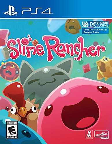 Slime Rancher - Playstation 4 (fzf9)