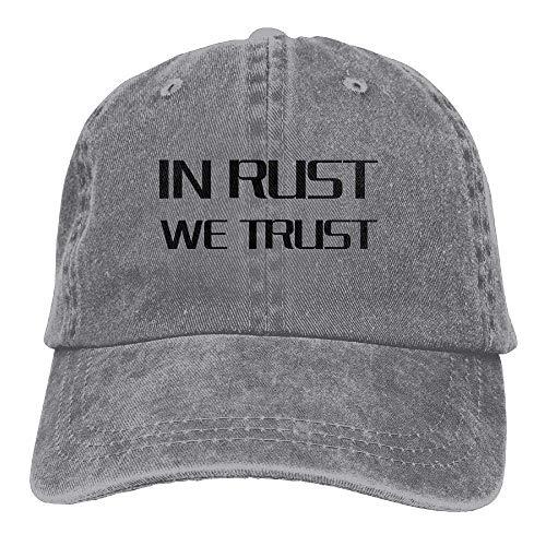 for Hats Skull Cowgirl Cowboy We Men in Sport Denim Rust Trust Women Cap Hat PXqwvP
