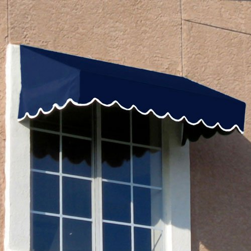 Awning Yarn Stripe (Awntech 3-Feet San Francisco Window/Entry Awning, 24 by 42-Inch, Navy)
