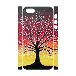 ALICASE Diy Customized Case Tree of Life 3D Case for iPhone 5,5S [Pattern-1]