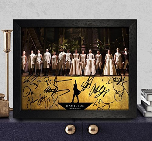 Hamilton Broadway Signed Autographed Photo 8X10 Reprint Rp (Hamilton Signed)