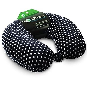Worlds Best Feather Soft Microfiber Neck Pillow Giraffe
