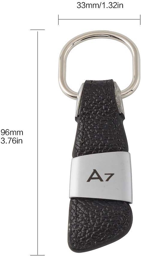 color tree Voiture Porte-cl/és pour Audi A3//A4//A5//A6//A7//Q3//Q5//Q7//TT pour Hommes//Femmes