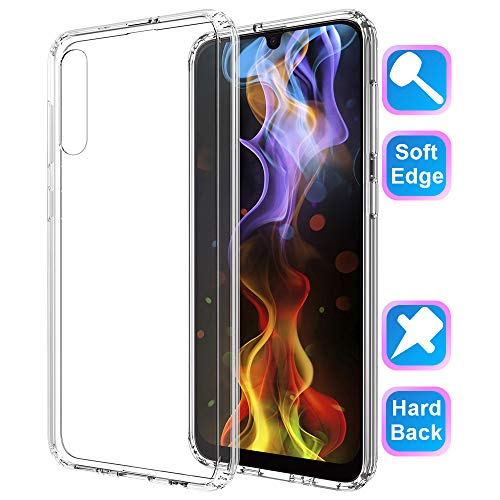 - GSDCB Case for Samsung Galaxy A50 Case 2019, Air Cushion Shockproof Phone Protective Case with Hard PC Back Cover Hybrid Soft TPU Edge Design Ultra Thin Slim Fit for Women Men Girl Kid Boy Clear