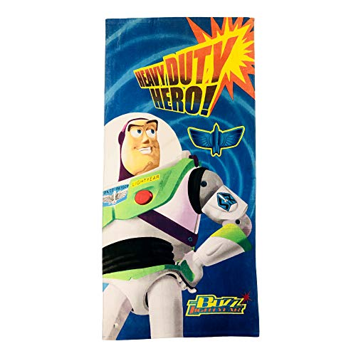 Boys Buzz Lightyear Heavy Dutty Hero Towel