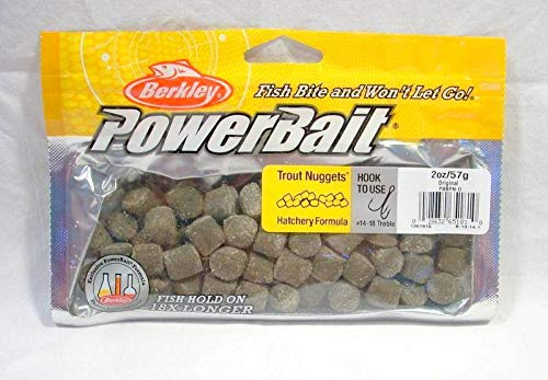 Z New Berkley Trout Chew Nuggets Powerbait Hatchery Fishing Bait USA