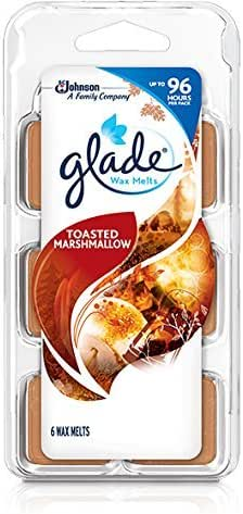 Toasted Marshmallow Glade Wax Melt Refill, 6-Count