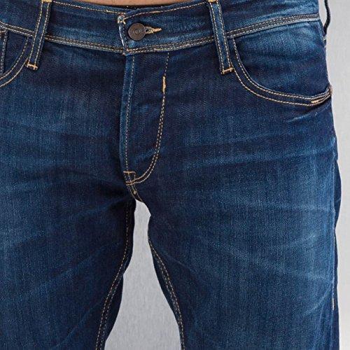 Le Temps Des Cerises Herren Jeans / Straight Fit Jeans 711 Basic blau W 32