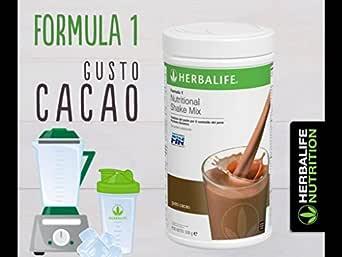 2 batidos de chocolate cremoso (2x 550gr) + coctelera: Amazon.es ...
