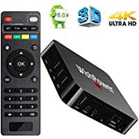 Wishpower Electronic021 Android TV BOX, MXQ Pro 5.1 Quad Core 1G/8G UHD 4K Android Box Smart TV BOX with HDMI DLNA