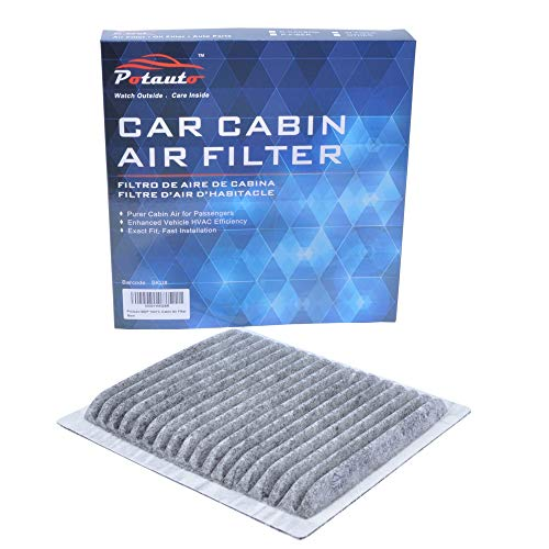 POTAUTO MAP 1041C (CF10547) Replacement Activated Carbon Car Cabin Air Filter for FORD, Edge, LINCOLN, MKX, MAZDA, CX-9 (Upgraded with Active Carbon)