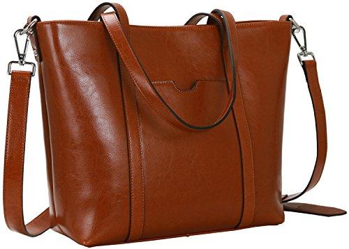 Kenoor Capacity Leather Handbag Shoulder