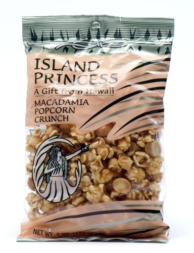 Island Princess Macadamia Popcorn Crunch Snack Bag