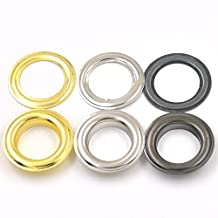 "60 sets Mix-Color Grommets Eyelets 21.5mm 7/8"" For Clothes Self Backing"