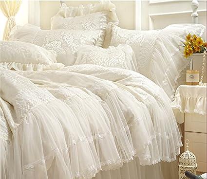 Sisbay Girls Beautiful Wedding Bedding