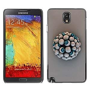 GagaDesign Phone Accessories: Hard Case Cover for Samsung Galaxy Note 3 - Eye Ball