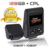 Street Guardian SG9663DC Dual Channel Dash Camera With 128GB MicroSD Card