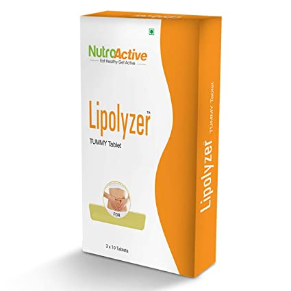 Nutroactive Lipolyzer Tummy Fat Burner 30 Tablets