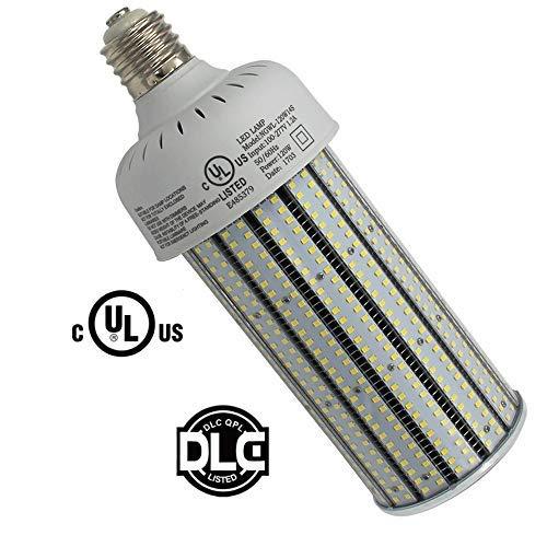 400W High Pressure Sodium Replacement LED Corn Light Bulbs 120 Watt Dustproof Parking Lot Fixture Retrofit Bulb E39 Mogul Base 5000K Pure White for Warehouse,Garage,Car Park AC100-277V (120) [並行輸入品] B07RB6WJCN
