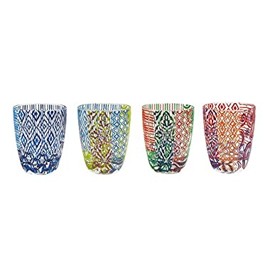 The Jay Companies Tracy Porter Old Fashions (Set of 4), Multicolor