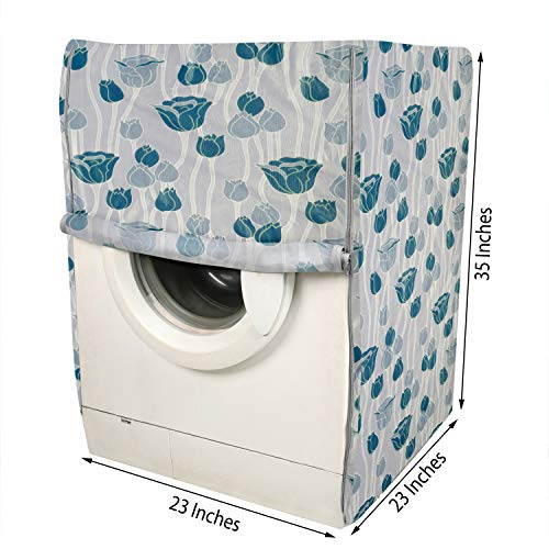 E-Retailer® PVC Waterproof Front Load Washing Machine Cover Suitable for 5KG to 7.5KG (Blue) 51iw1bPFtML India 2021