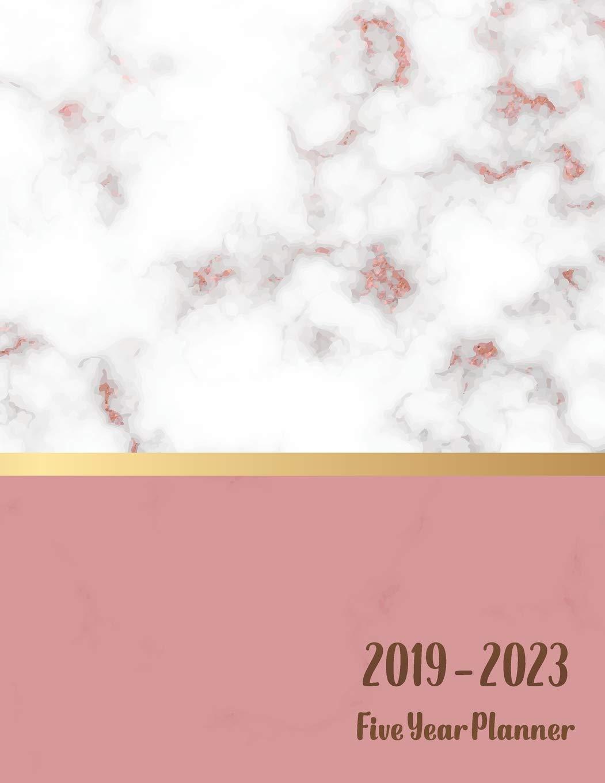 2019-2023 five year planner: Calendar january 2019 ...