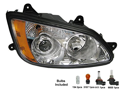 PetaParts PBP 34-486 Passenger Side Headlight (Kenworth T...