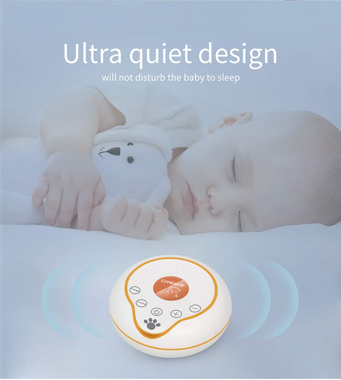 Electric Breast Pump,Double Breast Pump,Portable Dual Suction ...