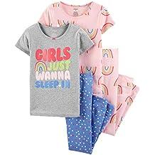 Carter's Baby Girls' 4 Pc Cotton 371g083