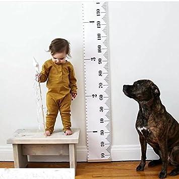 Growth Chart Kids Arichman 79 X 79 Roll Up Canvas Height Chart
