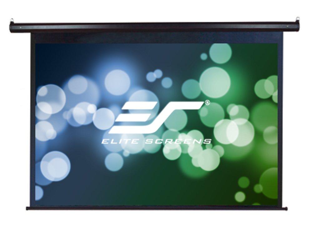 Elite Screens 135'' Diagonal -CLEARANCE- VMAX Series, Electric Projection Screen, 4:3 Aspect Ratio -VMAX135UWV-Black Case-, 30-Day Warranty (parts)