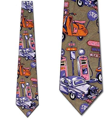 Wide 1950's Mens Necktie - 5