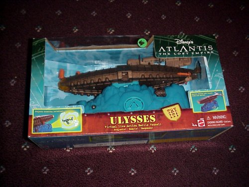 Atlantis Submarine - Disneys Atlantis, The Lost Empire, Ulysses Ship/Submarine
