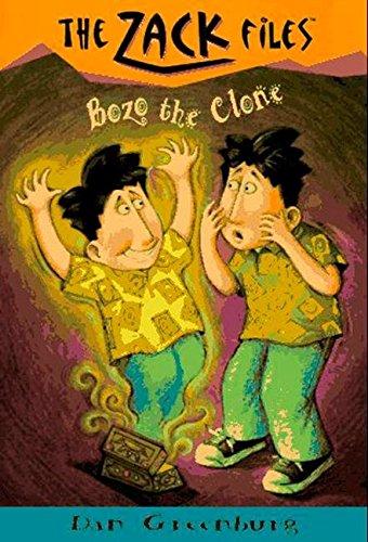 Zack Files 10: Bozo the Clone (The Zack Files)