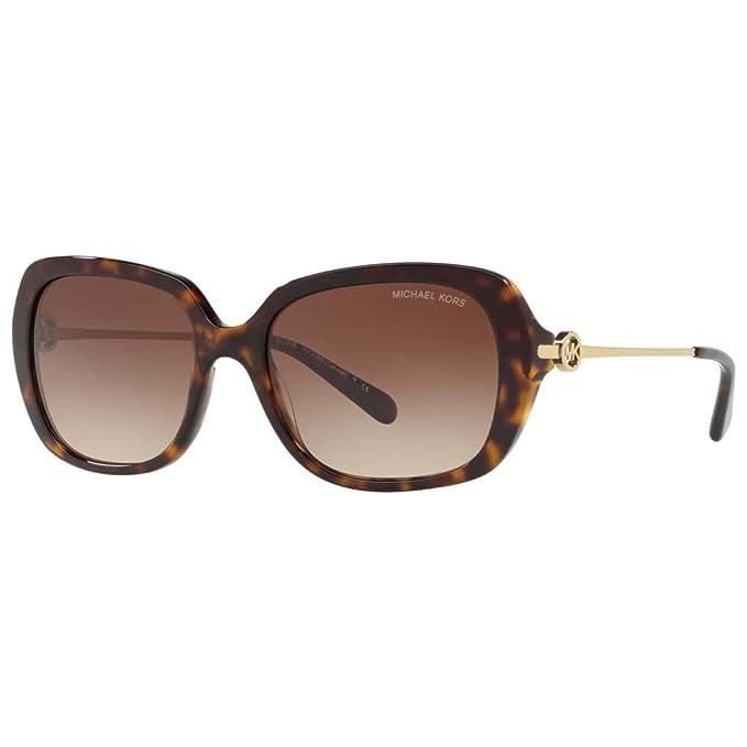 Michael Kors Carmel 300613 54, Gafas de Sol para Mujer, Marrón (Dark Tort