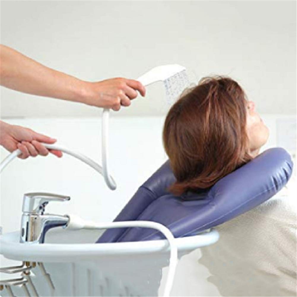 Mobile Salon Inflatable Hair Shampoo Basin Portable Washing Tray for Washing Hair in Bed and at Home Disabled Elder Pregnancy Patient