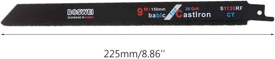 ZOOMY 2Pieces 225mm 9Hartmetall-S/äbels/ägeblatt zum Schneiden von Keramik-Gusseisen