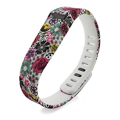 Niutop Replacement Large Bands with Metal Clasps for Fitbit Flex / Wireless Activity Bracelet Sport Wristband / Fitbit Flex Bracelet Sport Arm Band (No Tracker)
