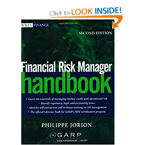 Financial Risk Manager Handbook, Second Edition Philippe Jorion