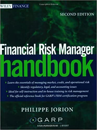 Financial Risk Manager Handbook, Second Edition: Philippe Jorion ...