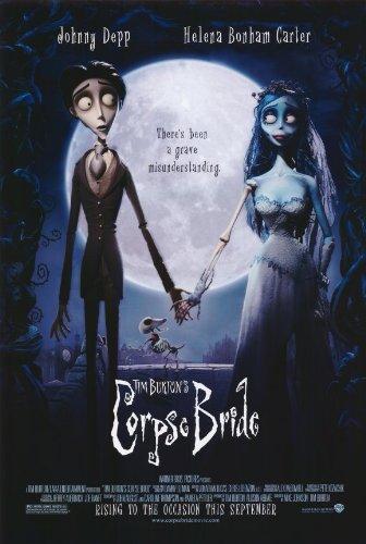 CORPSE BRIDE MOVIE POSTER 2 Sided ORIGINAL FINAL 27x40 TIM BURTON (Tim Burton Helena Bonham Carter Johnny Depp)