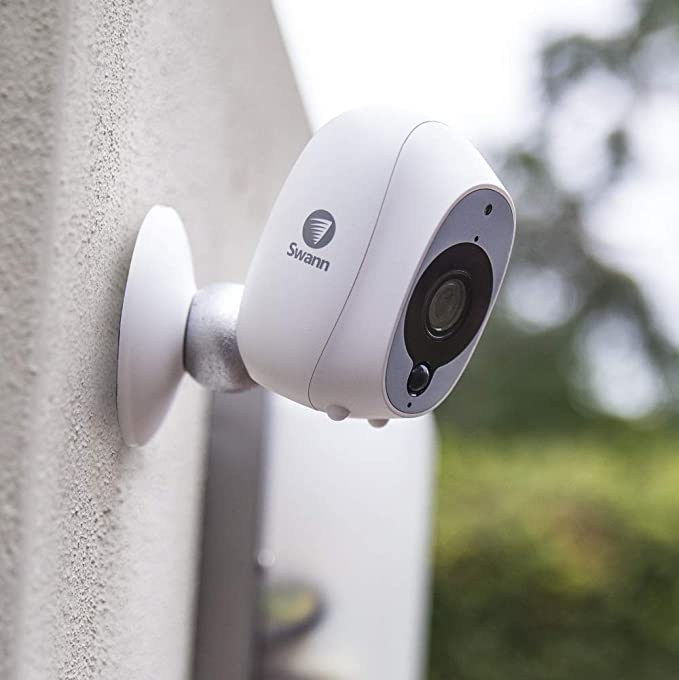 Swann Cámara de Seguridad Inteligente Inalámbrica 1080p Full HD con Sensor Térmico y de Movimiento PIR True Detect, Visión Nocturna y Audio: Amazon.es: ...