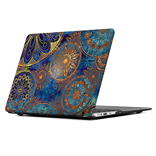 icasso-macbook-air-13-inch-case-hard-shell-protective-vantage-pattern-case-cover-for-apple-laptop-ma