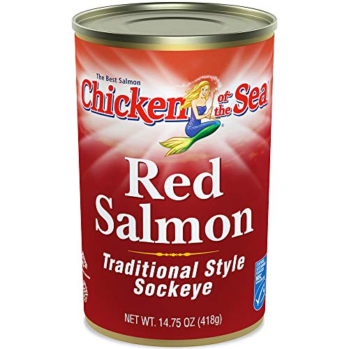 Chicken of the Sea Red Salmon, 14.75 Ounce Cans (Pack of 12) ()