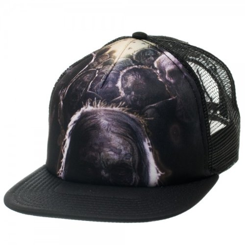 The Walking Dead Zombies Black Trucker Hat - The Walking Dead Hats