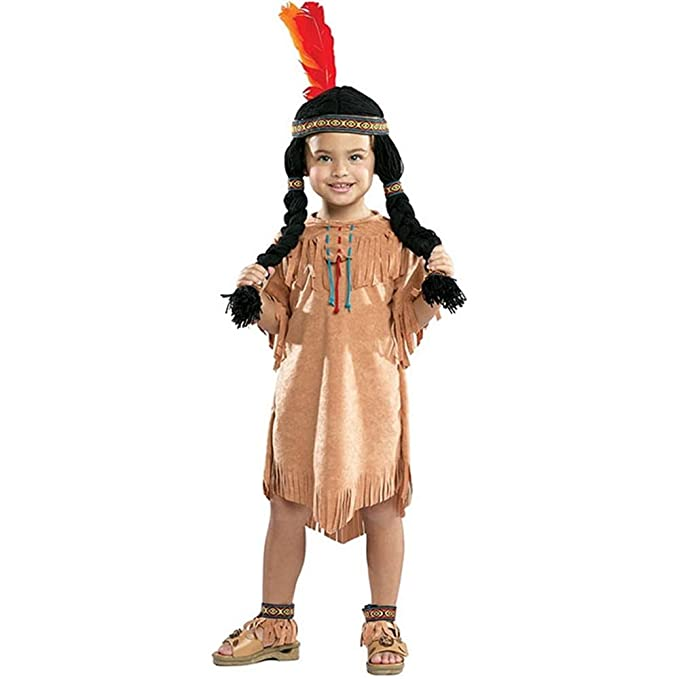 amazoncom indian girl kids costume 2 4 toys games