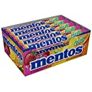 Mentos Chewy Mint Candy Roll, Fruit, Easter Basket Candy, 1.32 ounce/14 Pieces (Pack of 15)