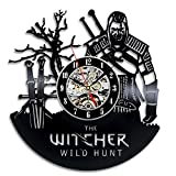The Witcher Gift Wall Clock Vinyl Record Art Decor Vintage