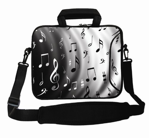 """Price comparison product image Music Note 12.5"""" 13"""" 13.3"""" Laptop notebook Sleeve Bag Case cover with Handle Shoulder Strap For Lenovo IdeaPad UltraBook U310 Z370, Lenovo IdeaPad YOGA 13, 12.5"""" 13"""" 13.3"""" Netbook Notebook, 13.3"""" Samsung Series 5 9 Ultrabook Dell, 13.3""""Samsung ASUS Sony Lenovo HP Dell, 13.3"""" Toshiba Portege , 13"""" 13.3"""" Toshiba Portege / DELL XPS 13, 13.3"""" Apple MacBook Pro, Sony Vaio VGN VPC T13 SR19, Dell XPS 13.3"""""""