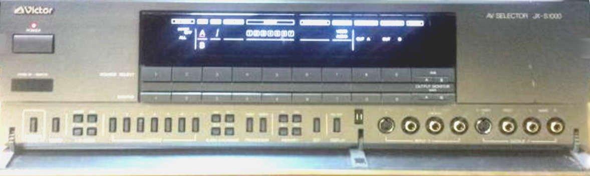 victor 水平解像度1000本 映像セレクター JX-S1000 +映像ケーブル9本 オリジナル布ダストカバー[プレゼント セット]   B072F5ZDNF